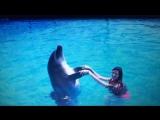 Плавание с дельфинами. Марина Подлесных