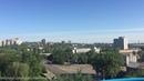 Луганск парк 1-го мая колесо обозрение ЛНР, вид с высоты на город