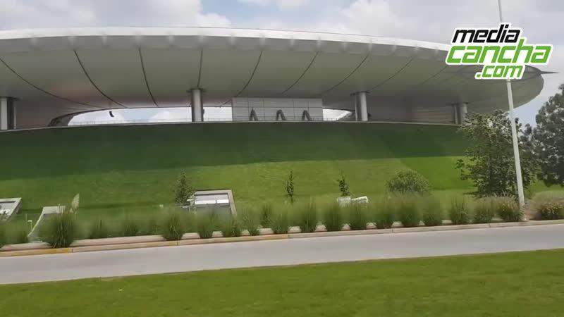 El estadio akron levanta la mano para partidos de NFL