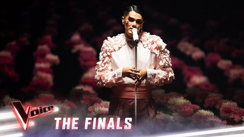 The Finals: Sheldon Riley sings '7 Rings' | The Voice Australia 2019