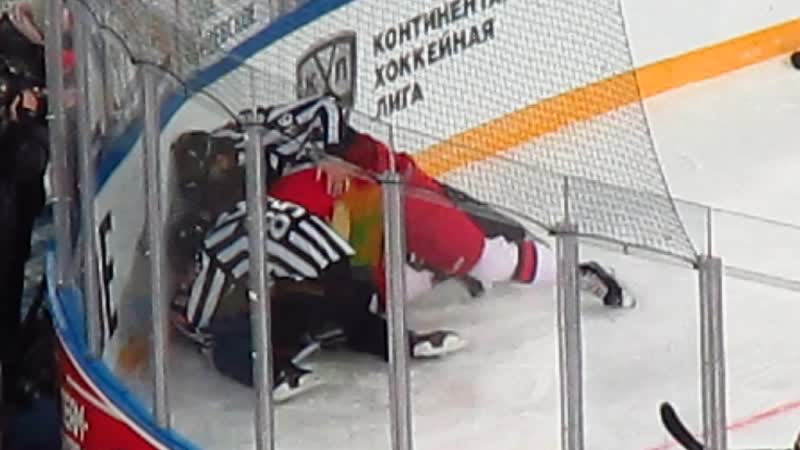 СКА-ЦСКА.Драка.Тихонов vs Карнаухов.