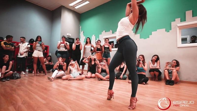 Natti Natasha Quien Sabe workshop Sara Panero Lady Style bachata dancing 2018