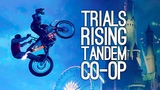 Trials Rising Gameplay Let's Play Trials Rising Tandem Bike at E3 2018 - OH NO OUR SPINES