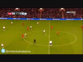 Steven Gerrard's long range passing. Football sex. 😍