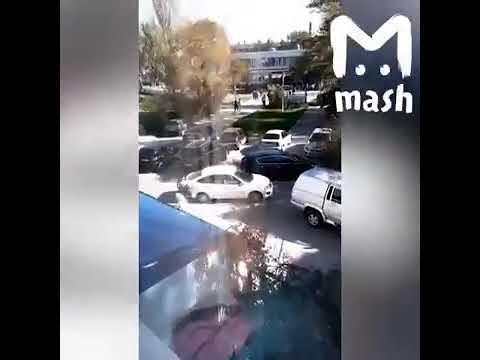 Девушка рассказывает что было при взрывев политехе