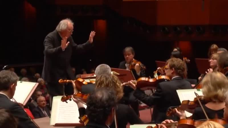 Brahms 3. Sinfonie hr-Sinfonieorchester Philippe Herreweghe
