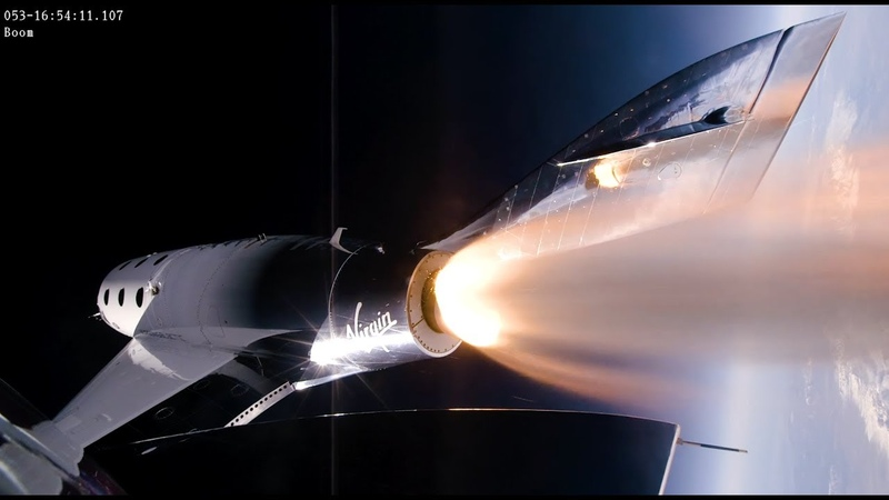 Virgin Galactic VSS Unity Supersonic Climb To 295,000 Feet