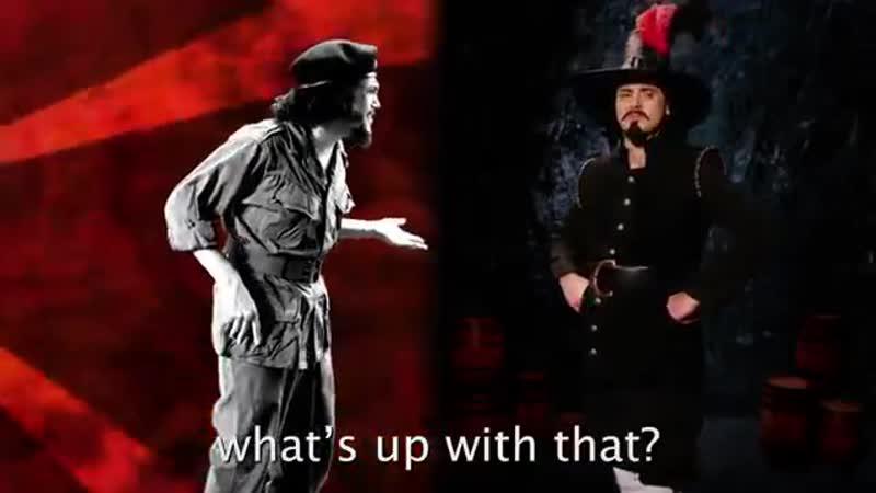 Guy Fawkes vs Che Guevara
