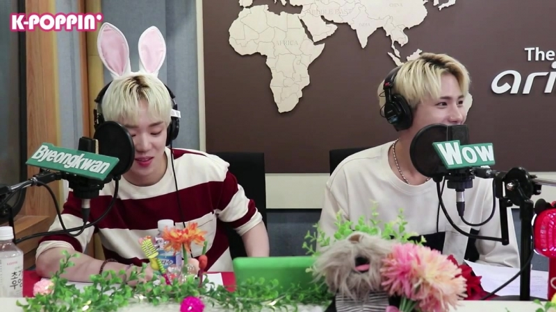 RADIO   31.08.18   Wow, Byeongkwan @ Arirang Radio K-POPPIN' IDOL CLASS 4 (Ep. 45)