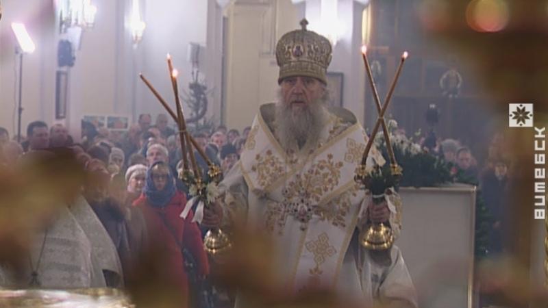 Рождественское богослужение из Свято-Успенского собора (06.01.2018)