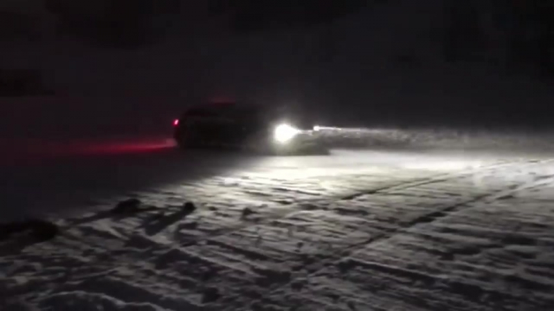 That's why I miss winter already_ 750HP Audi RS6 C7 Attacks the Snow.mp4