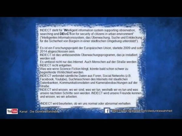 NWO EU Totales überwachungssystem kommt! Unglaublich! YouTube