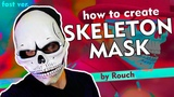 How to create skeleton mask. FAST version