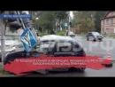 «Матиз» протаранил светофор в Вологде: автоледи в больнице