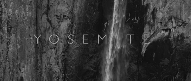YOSEMITE in Black and White