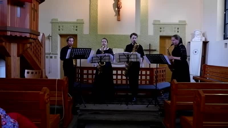 Konzert d-moll fur zwei violinen und streichorchester (J. BachА. Стольмашенко) - часть 1