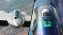 Новейший Су-57 впервые показали так близко