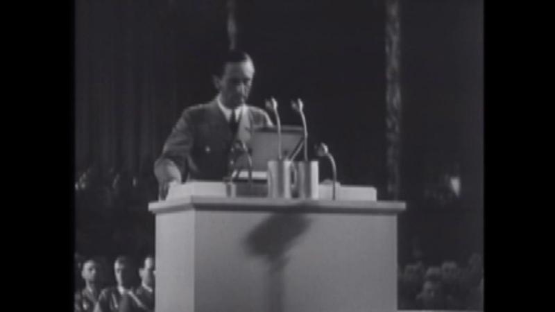 Goebbels - Os judeus destruirão a cultura ocidental