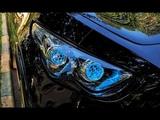 Свет фар Infiniti Fx со светодиодными линзами GTR на чипах Zeus