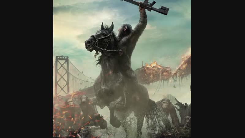 Планета обезьян Война 30 октября на РЕН ТВ
