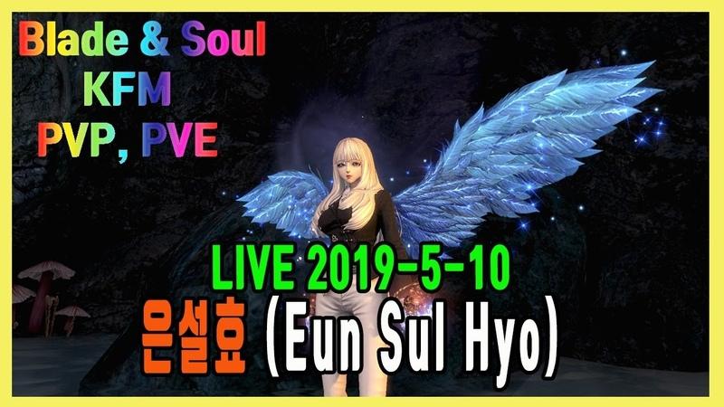 [Blade Soul] KFM PvP, PvE 블소 권사 전장, 던전 LIVE 2019-5-10
