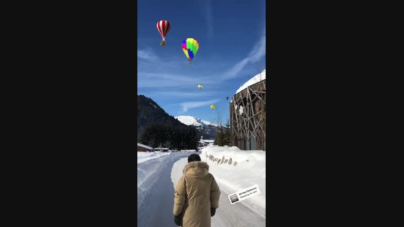 Томас Андерс • Instagram Истории • 19.01.2019 Таннхайм, Тироль, Австрия