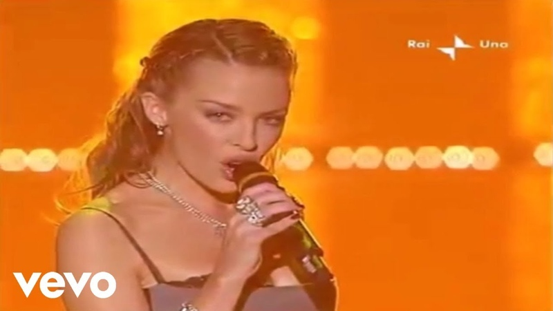 Kylie Minogue - In Your Eyes (Live from Sanremo Music Festival 2002)