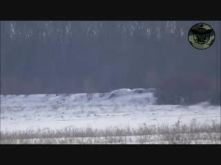 Знищення кулеметного розрахунку та позиції окупантів воїнами 54ОМБр