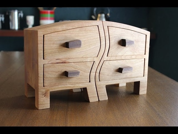 Making a Pair of Bandsaw Boxes