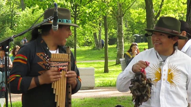 Inty (Pakarina), Jose и Rumi (Ecuador Indians) 19.05.19г. (MVI_1010) 21. Puru runas