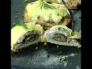 Безумно сочное мясо! Отбивные с грибами и сыром в духовке. _