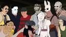 Dead By Daylight PARODY 2 Русский Дубляж - Анимация
