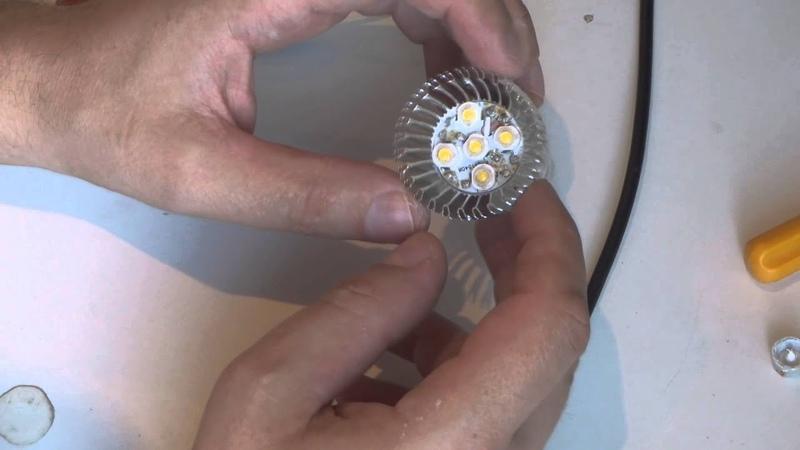 Ремонт светодиодных ламп моргание лампы