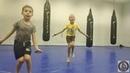 Детские тренировки по тайскому боксу. Развитие выносливости у детей 7-12 лет.