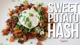 Easy Sweet Potato Hash SAM THE COOKING GUY