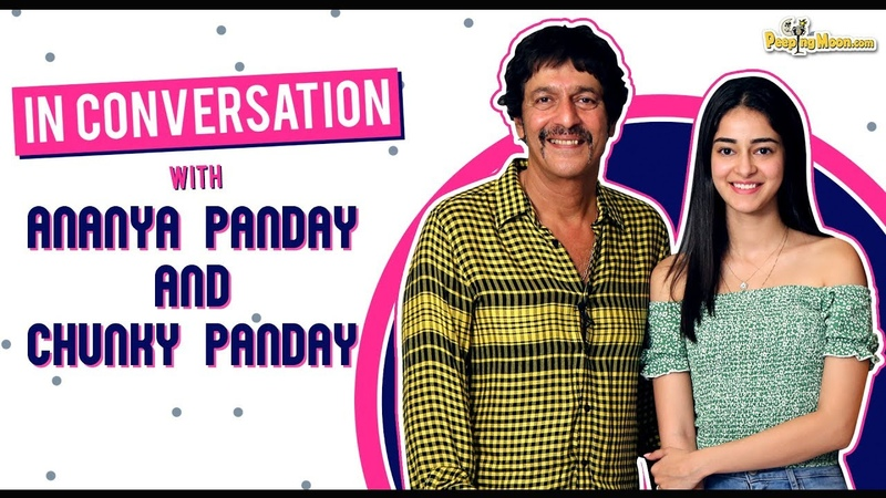 Ananya Panday and Chunky Panday get candid about Father's Day as they take us down the memory lane