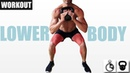 KETTLEBELL LOWER BODY WORKOUT FOR MUSCLE GROWTH