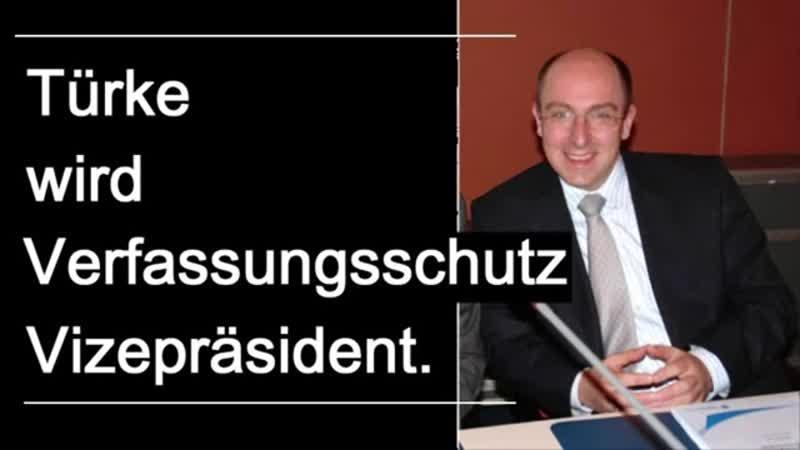 -Richtiger Türke- wird Verfassungsschutz-Vize- -Merkel-Raute als Qualifikation-