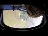 Первый прыжок с парашютом. первый прыгает мой брат Слава, иа ним прыгаю я)