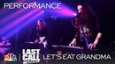 Let's Eat Grandma It's Not Just Me Last Call with Carson Daly Musical Performance