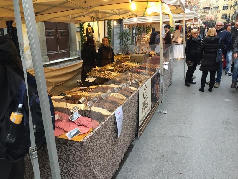 Отчет о путешествии в Италию Пиза и Флоренция. фестиваль шоколада Choco Moments
