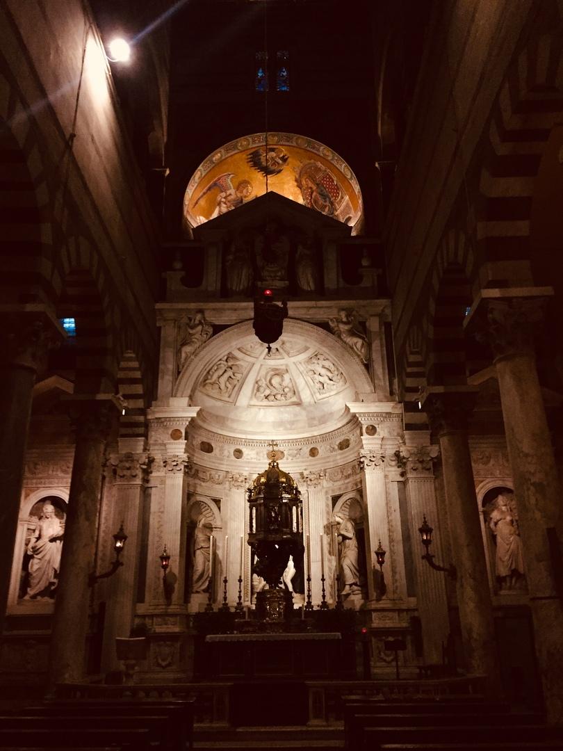 Отчет о путешествии в Италию Пиза и Флоренция. Кафедральный собор ПизыКафедральный собор Пизы