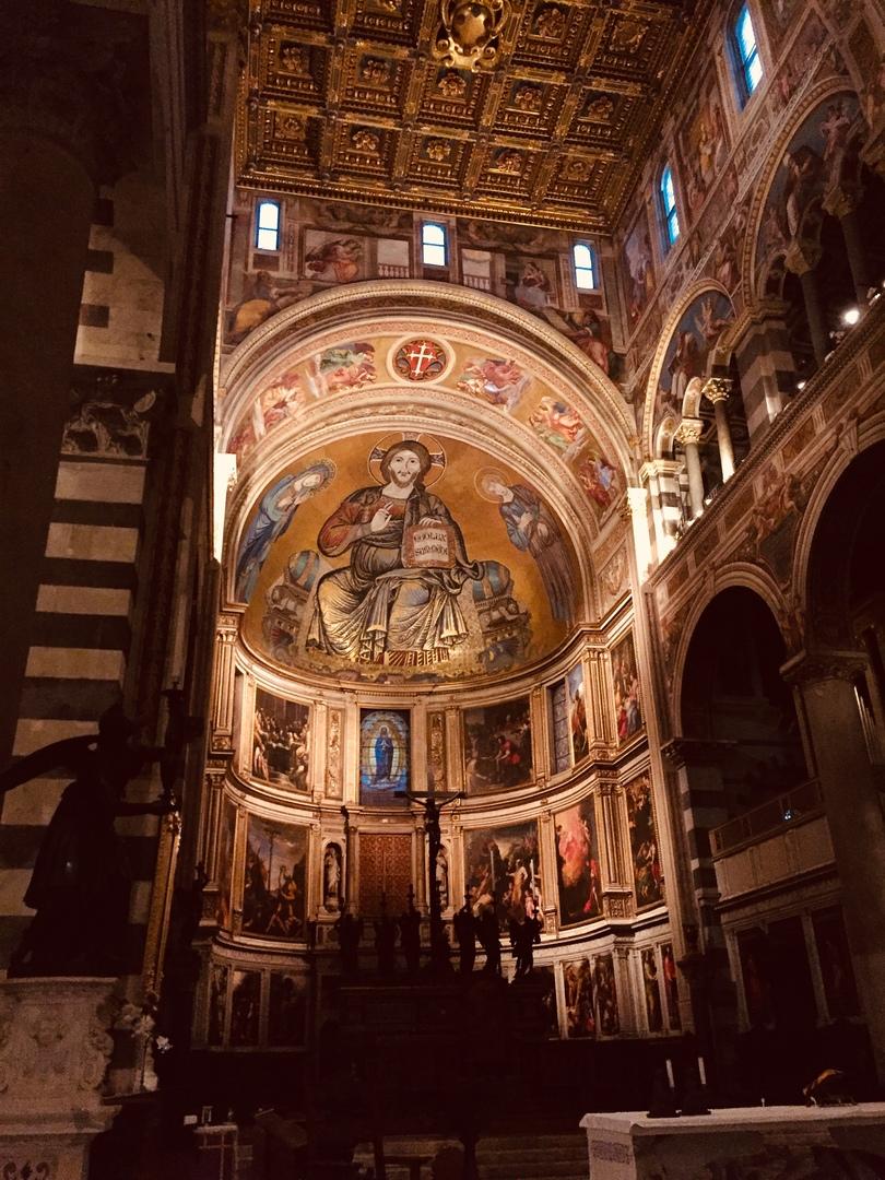 Отчет о путешествии в Италию Пиза и Флоренция. Кафедральный собор Пизы