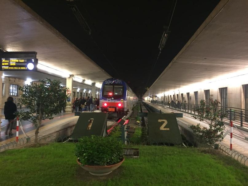 Отчет о путешествии в Италию Пиза и Флоренция. Вокзал Firenze Santa Maria Novella
