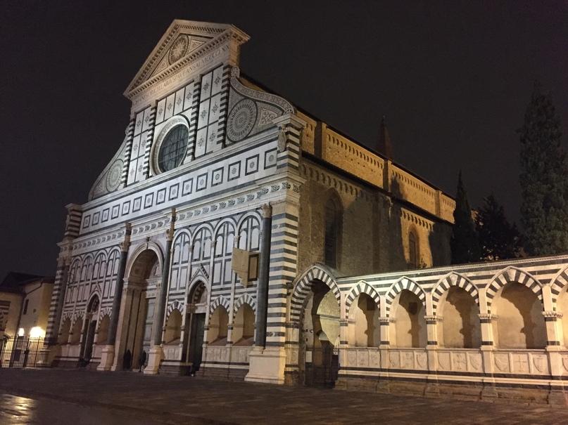 Отчет о путешествии в Италию Пиза и Флоренция. Собор недалеко от вокзала