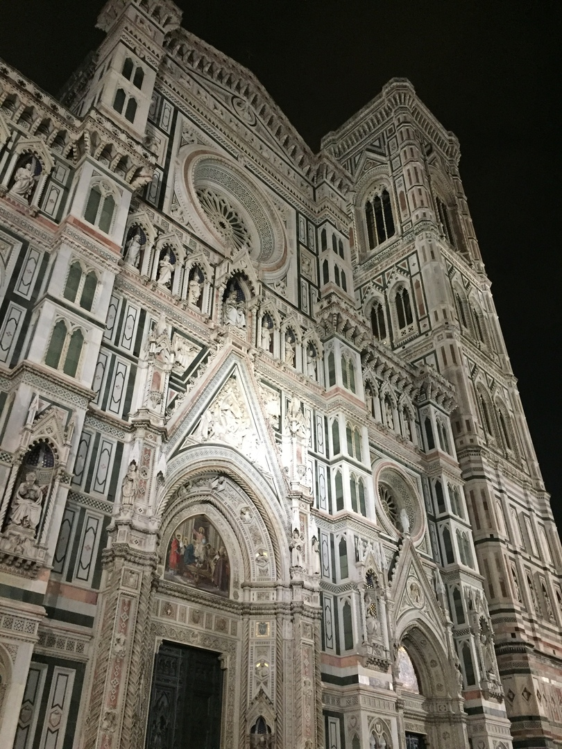 Отчет о путешествии в Италию Пиза и Флоренция. Санта-мария-дель-Фиорэ