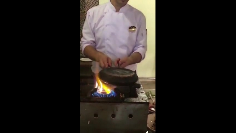 Impressive cooking technique