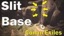 ⚡ База в разломе скалы - Conan Exiles! ⚡