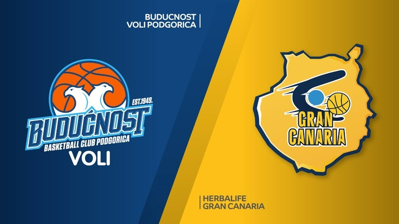 Buducnost VOLI Podgorica - Herbalife Gran Canaria Highlights | EuroLeague RS Round 20