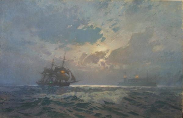ХУДОЖНИК БУДУЩЕГО ИМПЕРАТОРА. ГРИЦЕНКО. (18561900) Профессиональное образование он получил в Кронштадте, стал морским офицером и в должности корабельного инженера побывал во многих дальних